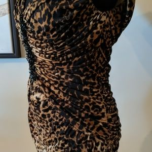 Tadashi Shoji Dresses - Body Hugging Leopard Dress